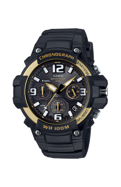 Casio MCW100H-9A2 Black/Gold