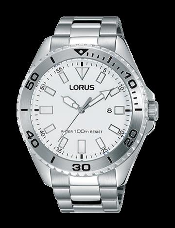 Lorus RH931HX-9 Silver/White