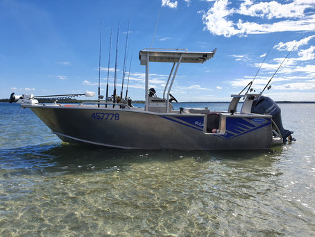 Fishing Tin Can Bay Smooth Water Charters is now LIVE