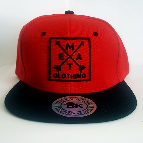 Cross & Arrow - Red/Blk