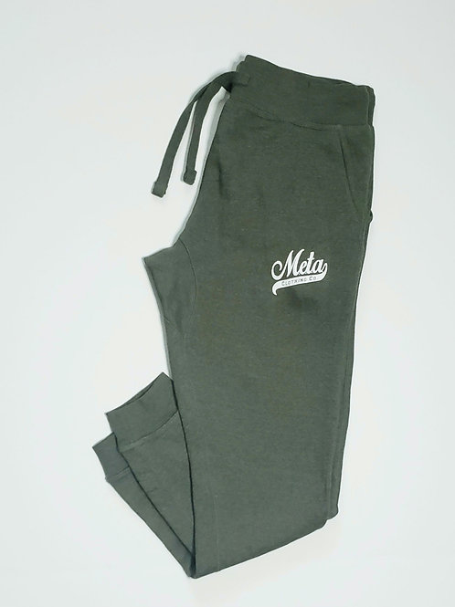 Logo Joggers - Military Green Heather