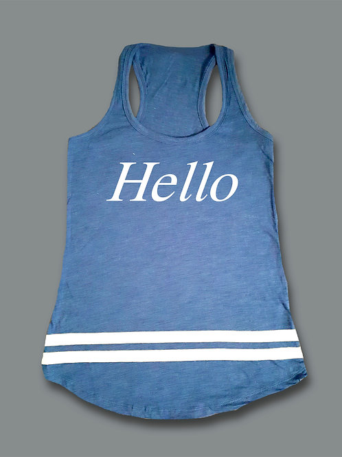 Hello - Blue
