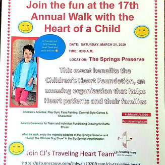 17th Annual Walk with the Heart of a Chi