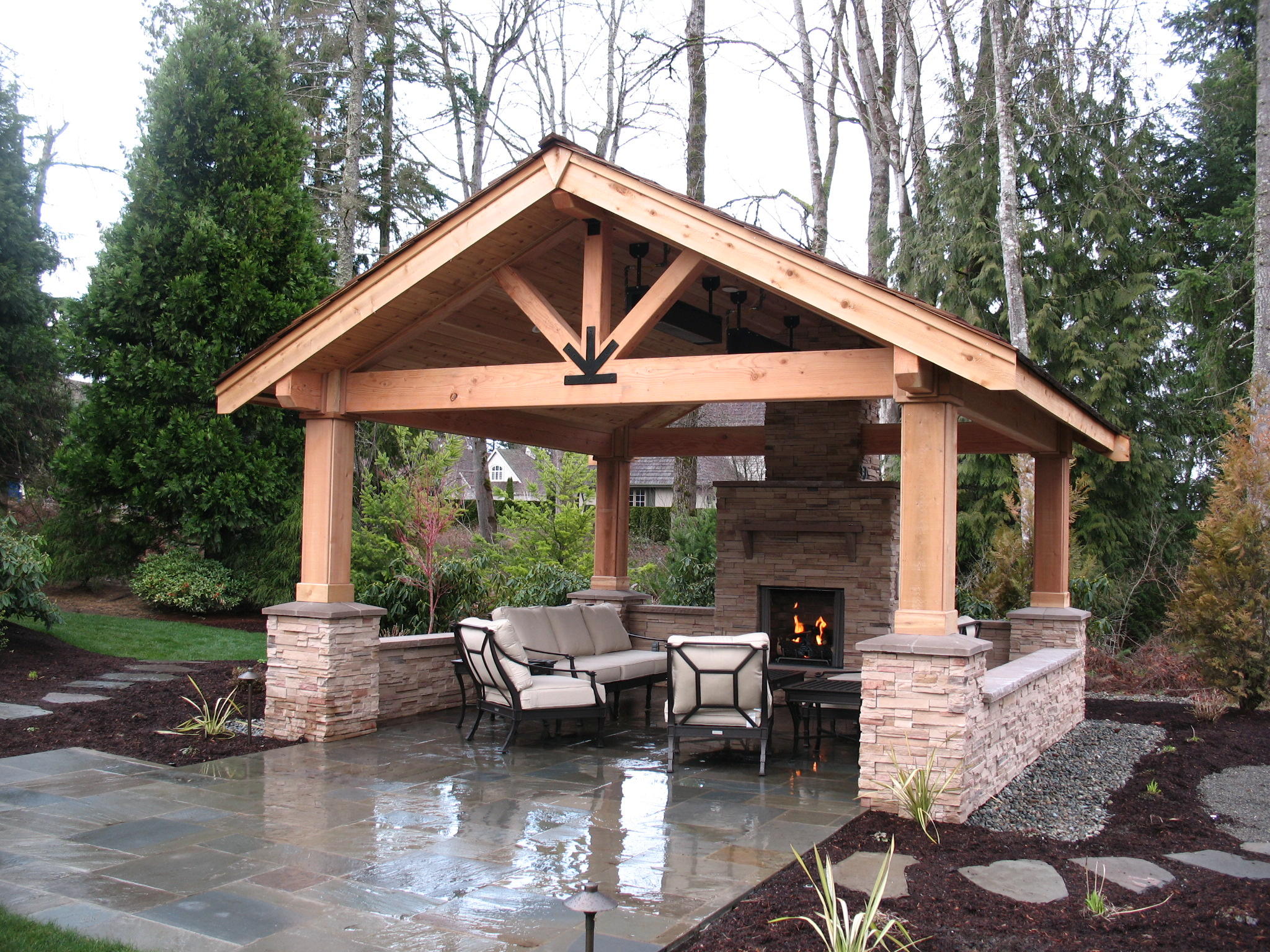 Beautiful Covered Patios Enhance Outdoor Living | Maloneu0027s Landscape|Landscape  Designers|Seattle|Bellevue|Sammamish
