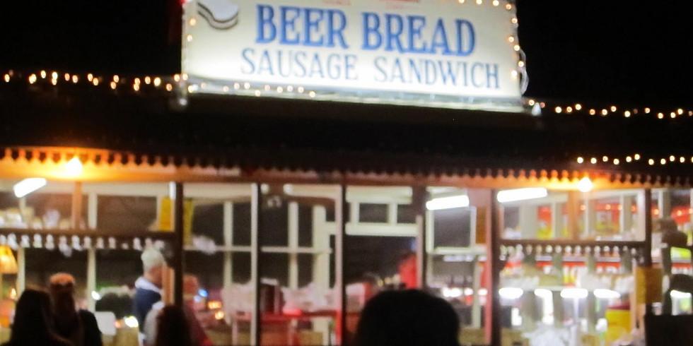 BEER BREAD SAUSAGE SANDWICHES