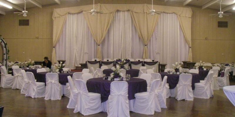 Hall Decorated
