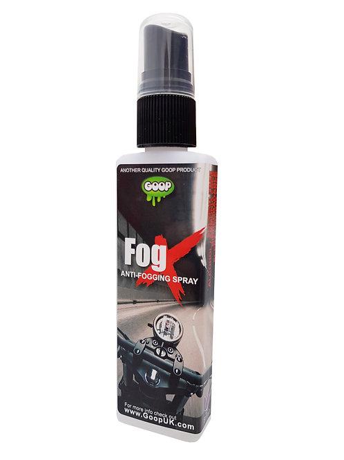 FogX Anti Mist Visor Spray 50ml Bottle