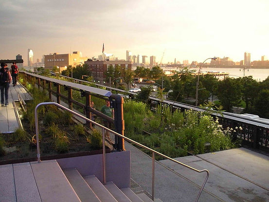 New York City high line. Praise for Mobilizing the Green Imagination