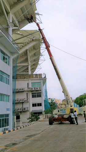 Roof structure maintenance