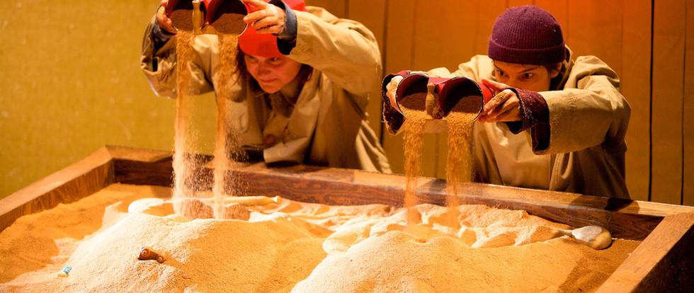 Le carré de sable