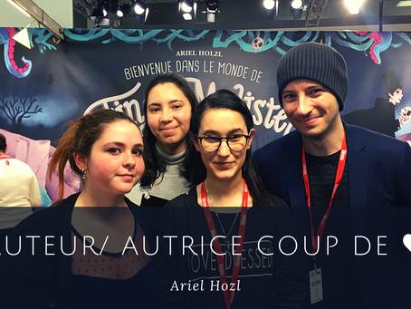 Auteur/ autrice coup de ♥ : Ariel Hozl