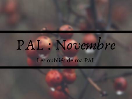 PAL : Novembre