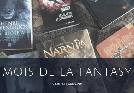 Challenge : le Mois de la Fantasy 2019