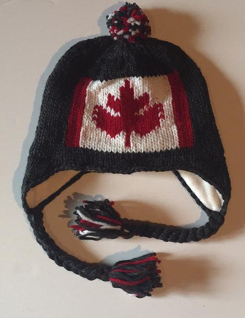 Canada knit hat