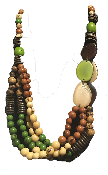 Tagua Necklace-Multi