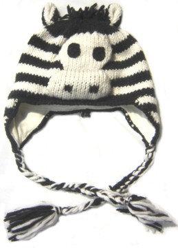 Animal Hat-Zebra