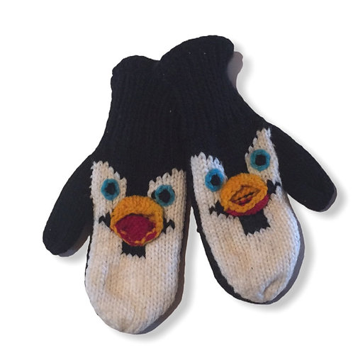Adult animal mitt/Penguin