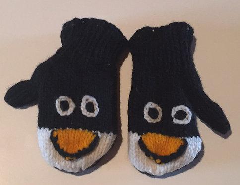 Children mitts medium Penguin