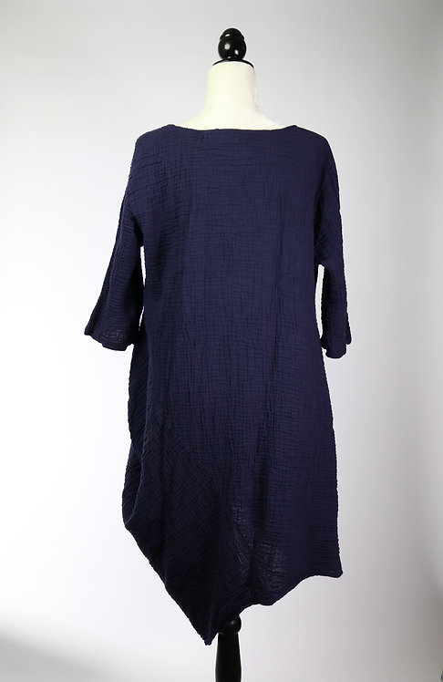 cotton dress 1/3 sleeve