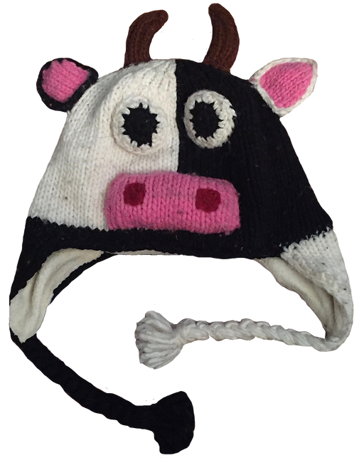 Animal Hat-Cow