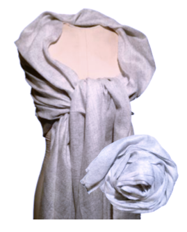 Cashmere Shawl-Cream
