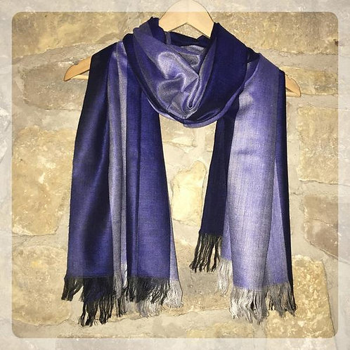 Beach road traditional cotton scarf