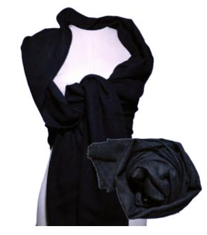 Cashmere Shawl-Black