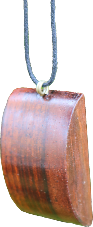 Wood pendant square
