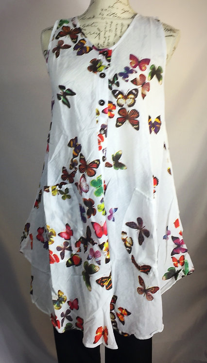 Butterfly top -round neck (2 sizes)
