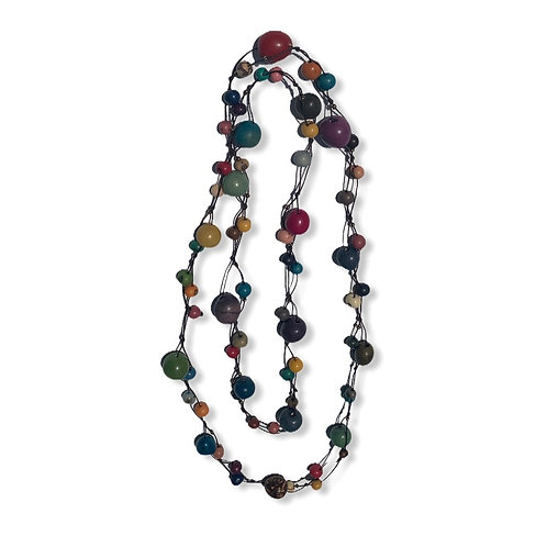 Tagua Necklace-Largos