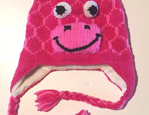 Animal Hat-Pink Giraffe