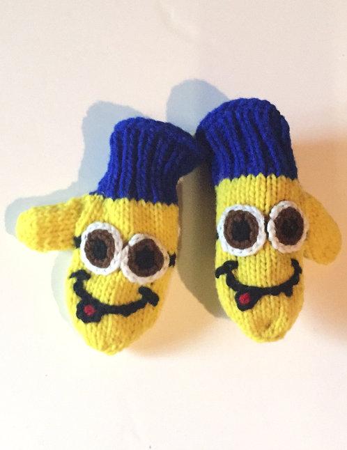 Children's mitts -minion