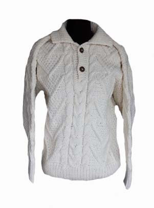 Aran 2 button cream