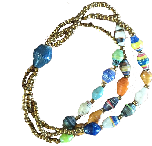 CHOU Triple strand bracelet
