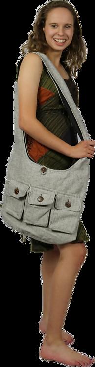 3 pocket bag-grey