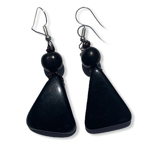 Tagua Earrings-Assorted