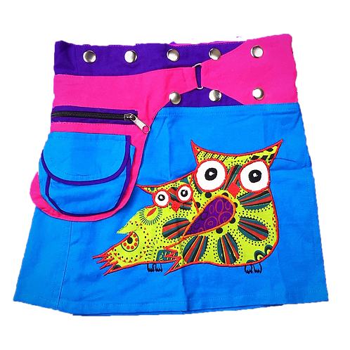 Children owl skirt age 6-8