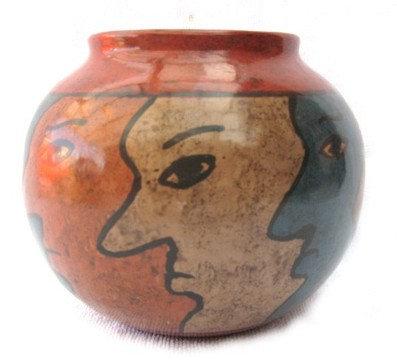 Faces bowl