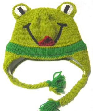 Animal Hat-Frog