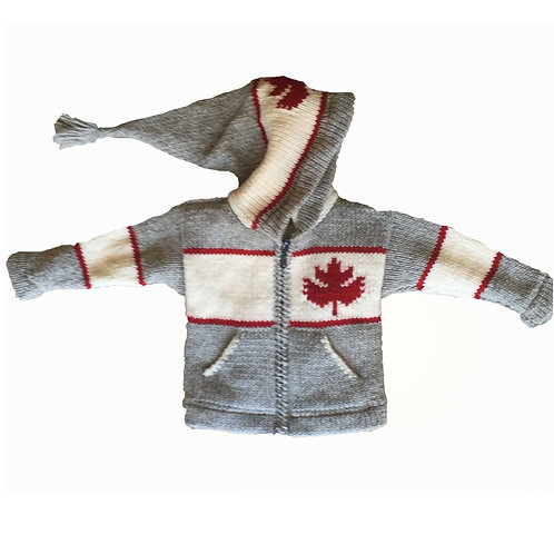 Children Canada Sweater Un-Lined
