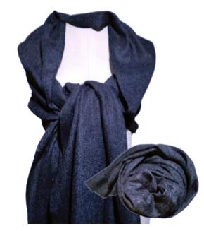 Cashmere Shawl-Dark Grey