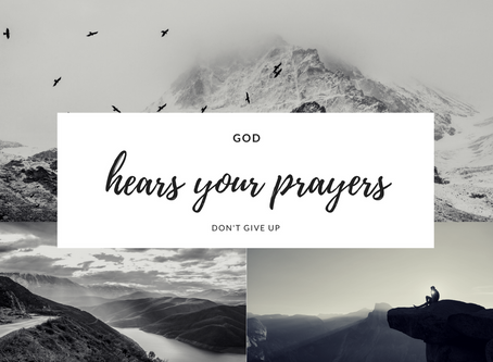 Don't Give Up Praying