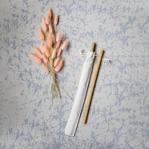 Bambusz szívószál (1 db)