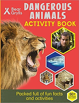 Bear Grylls Sticker Activity: Dangerous Animals