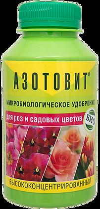 Азотовит для роз и садовых цветов микробиологическое удобрение