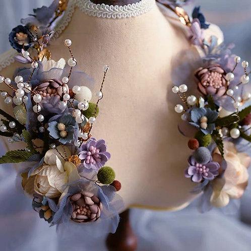 Brooke Handmade Luxury Bridal Crystal Hair Accessory