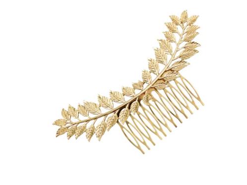 Penelope Leaf Hair Comb