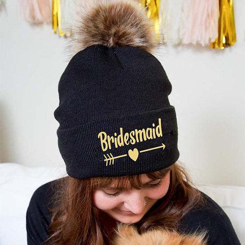 Bridesmaid Woolen Hat For Hen Party