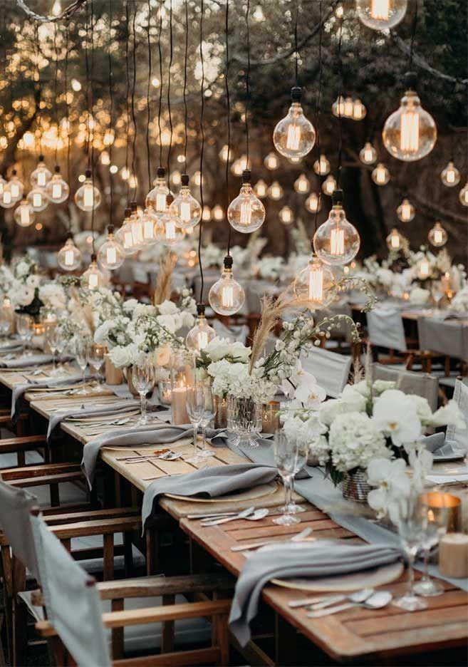 Small wedding back garden wedding decor ideas