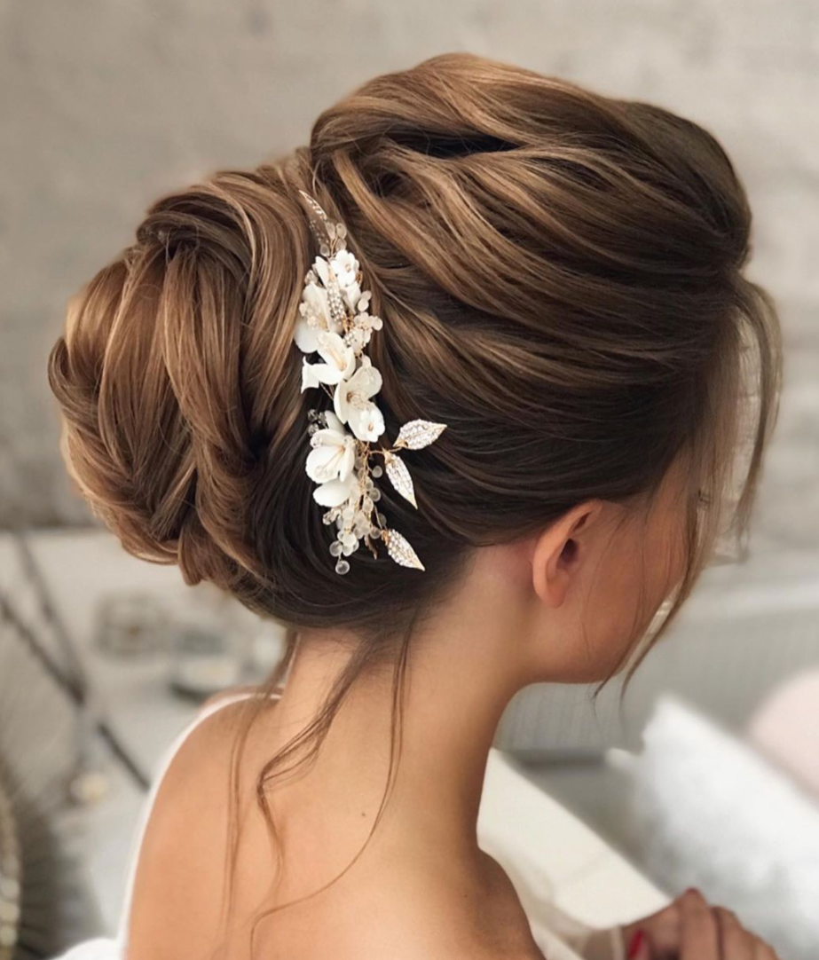 updo for medium hair braided style